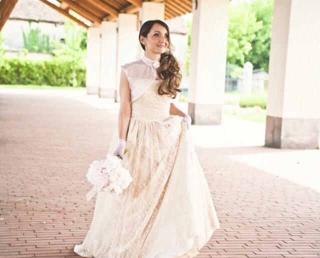 Abito da sposa atelier Milano | Marianna Lanzilli
