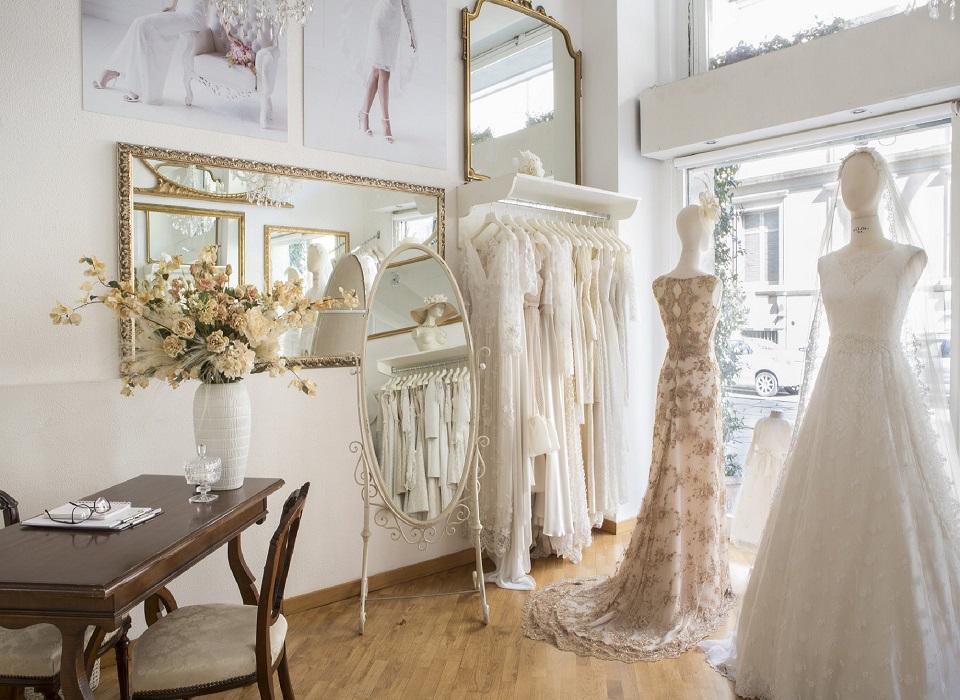 Atelier abiti da sposa Como – Frank Baster