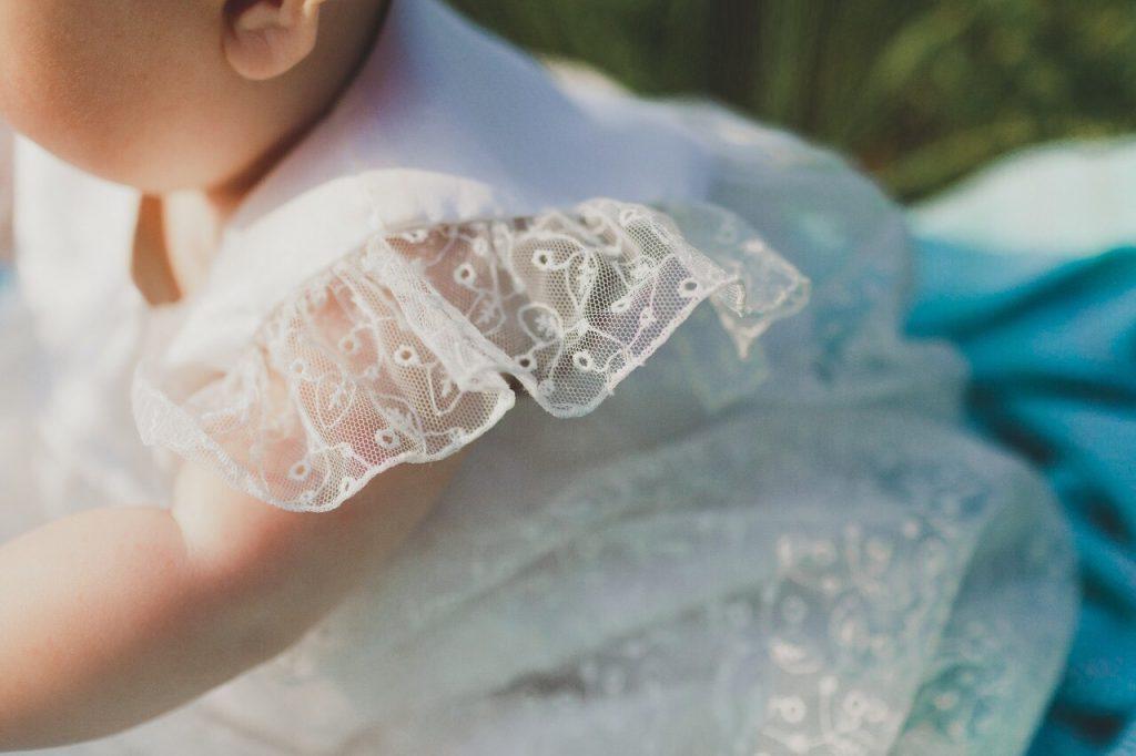 Abitino battesimo in tulle Milano | Marianna Lanzilli