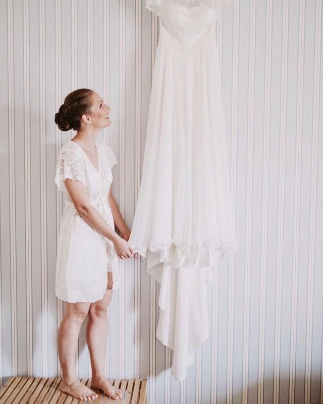Come appendere abiti da sposa | Marianna Lanzilli