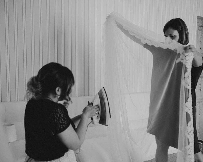 Stirare abito da sposa | Marianna Lanzilli