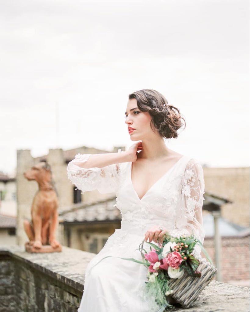 Abito Da Sposa Boho Chic Marianna Lanzilli