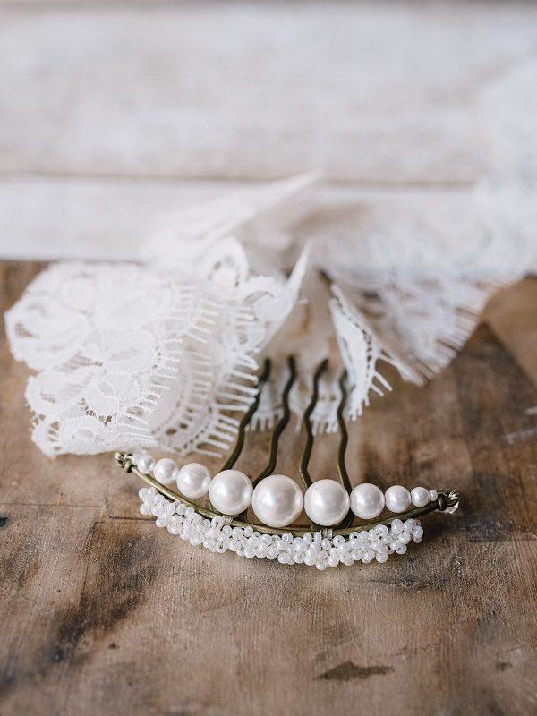 Accessori per capelli sposa Milano | Marianna Lanzilli