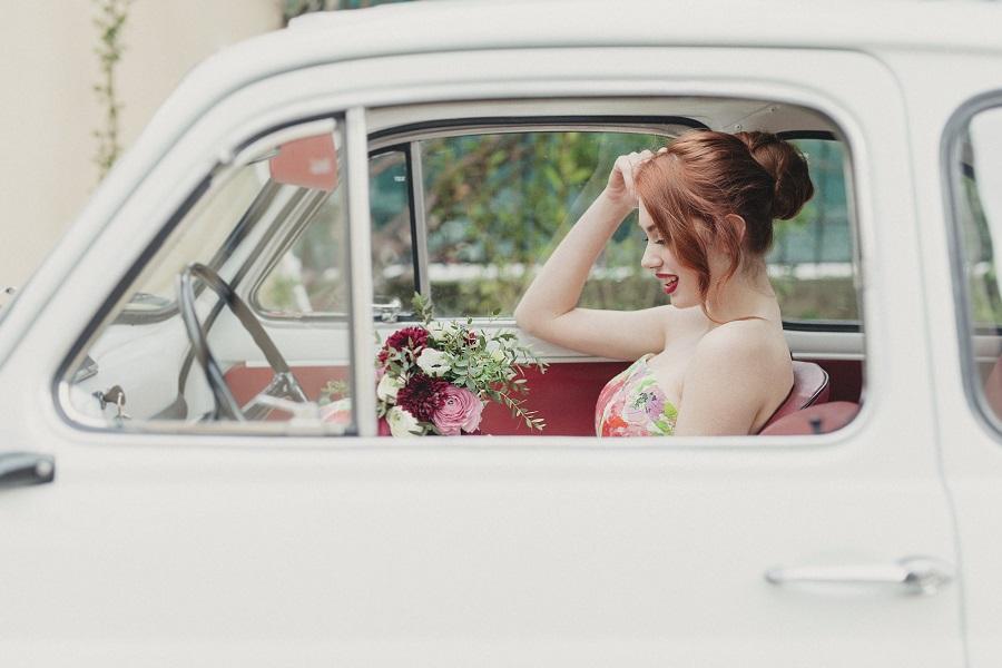 Abito da sposa floreale | Marianna Lanzilli