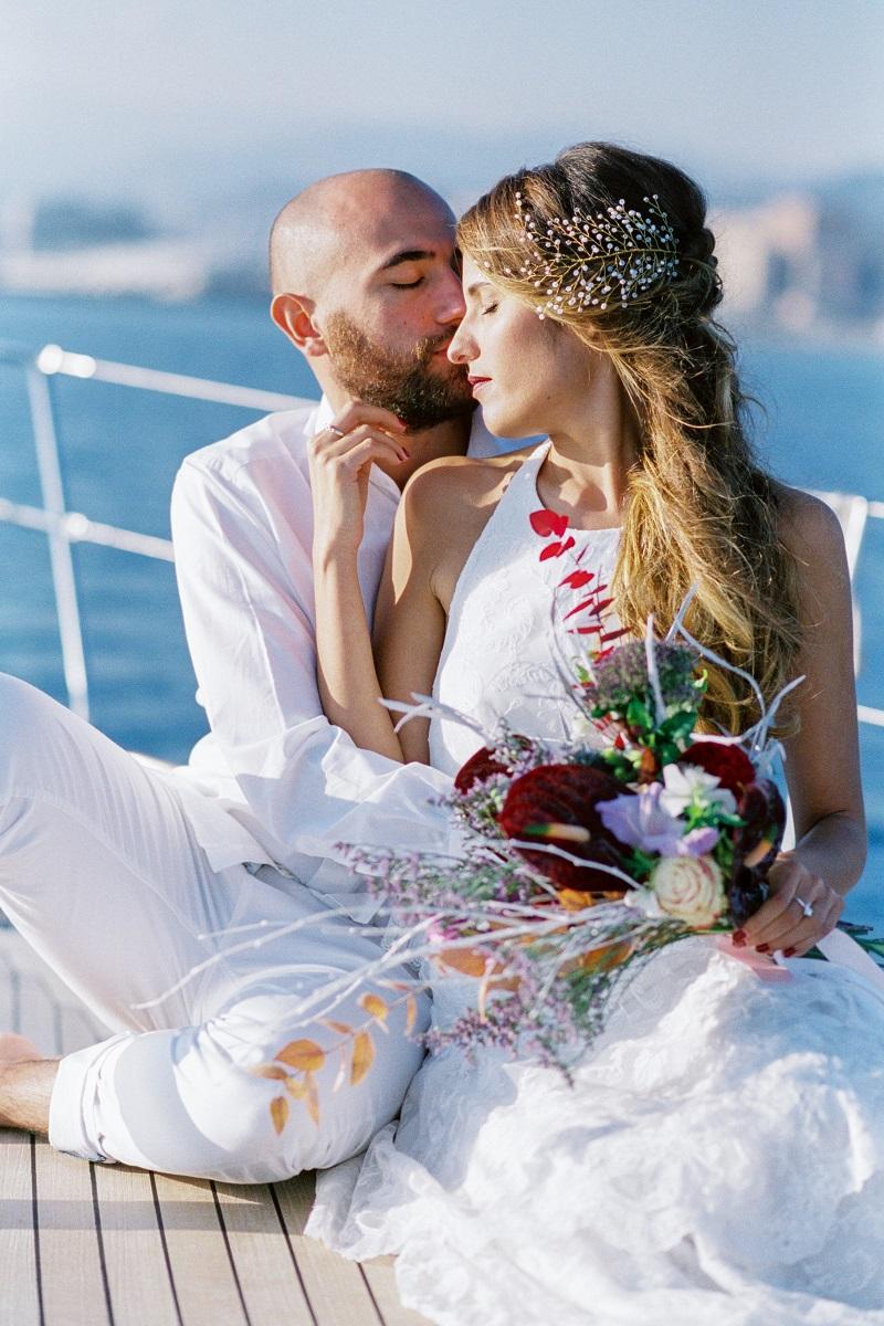 Abiti da sposa matrimonio sul mare | Marianna Lanzilli