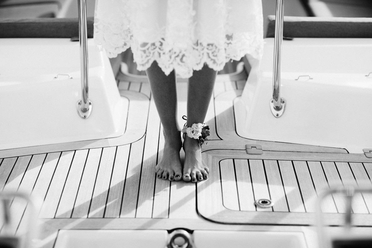 Matrimonio sul mare in barca a vela | Marianna Lanzilli