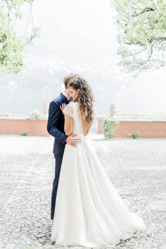 Abito da sposa Lago di Como | Marianna Lanzilli