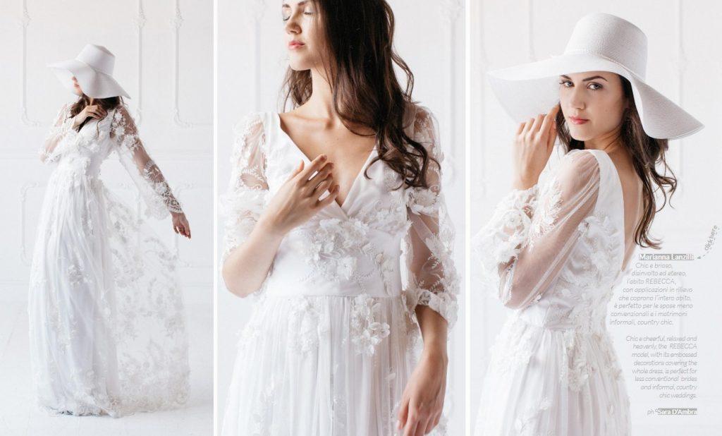 Rivista abiti da sposa | Marianna Lanzilli