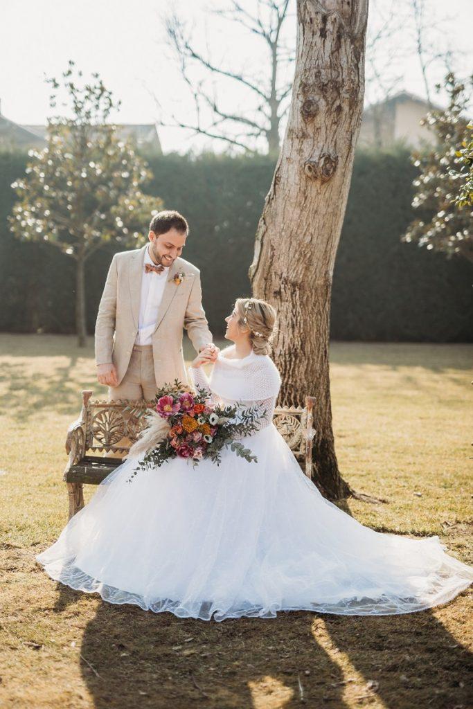 Bolero per abito da sposa invernale | Marianna Lanzilli