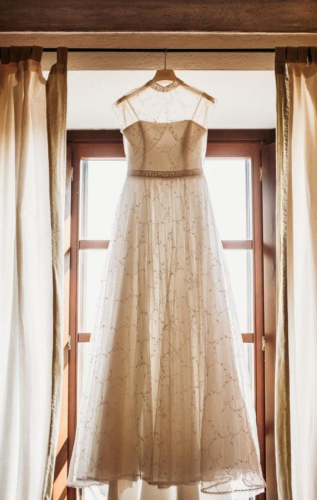 Come appendere abito da sposa | Marianna Lanzilli