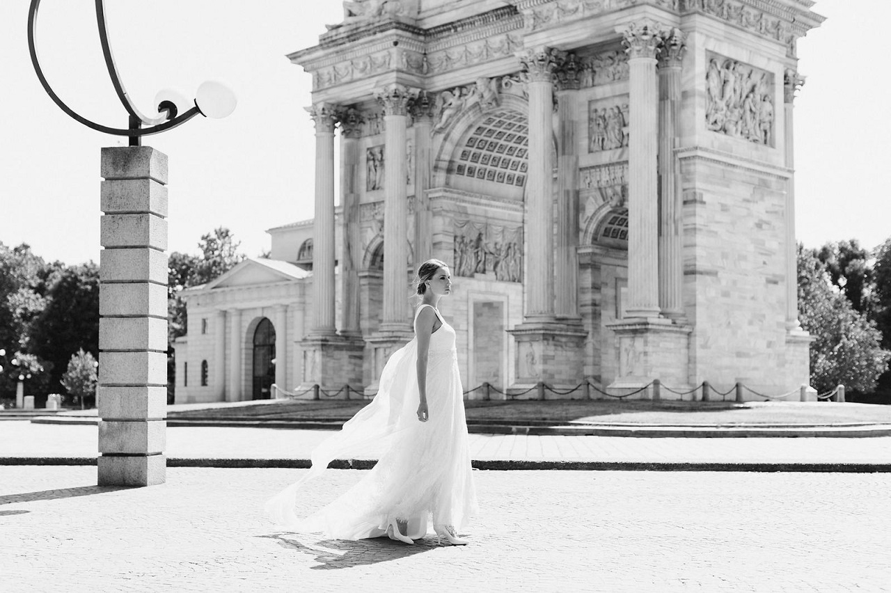 Italian wedding dress | Marianna Lanzilli