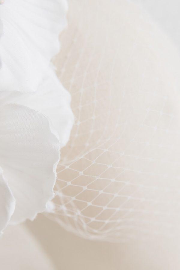 Cerchietto sposa con fiore | Marianna Lanzilli