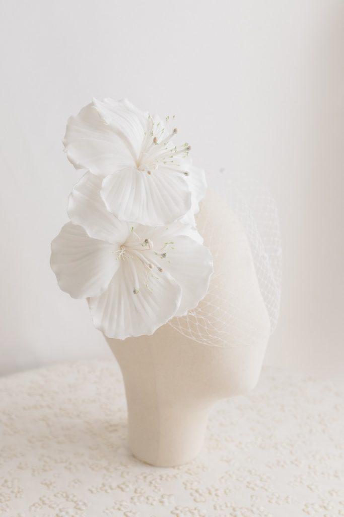 Cerchietto sposa con fiori | Marianna Lanzilli