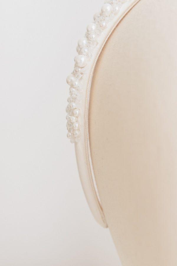 Cerchietto sposa con perle | Marianna Lanzilli