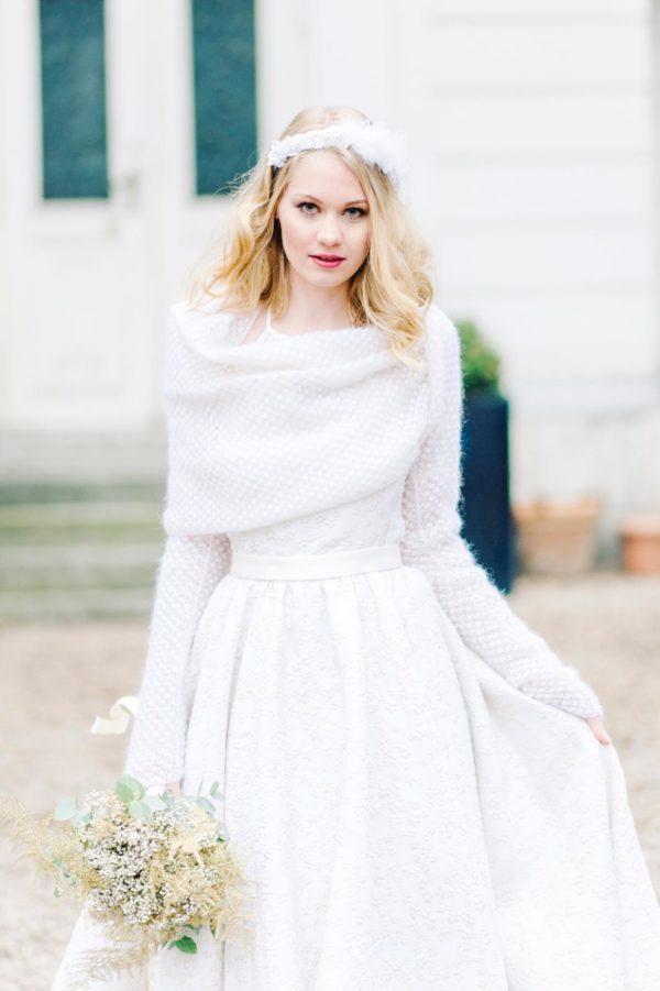Bolero sposa invernale | Marianna Lanzilli